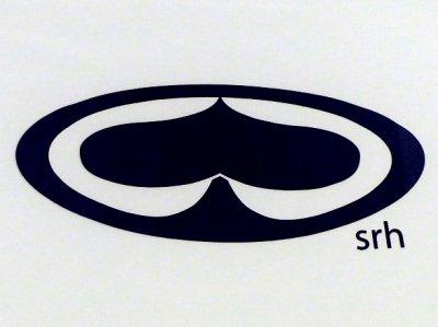 画像1: SRH(エスアールエイチ) SPADE LOGO S/S WORK SHIRTS / -BLK-