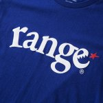画像3: range(レンジ)定番ロゴ/ LOGO S/S TEE (N.BLUE) (3)