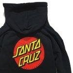 画像3: SANTA CRUZ(サンタクルーズ)パーカー/CLASSIC DOT HOOD -BLK- (3)
