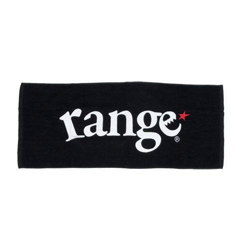画像1: range BLACK TOWEL (1)