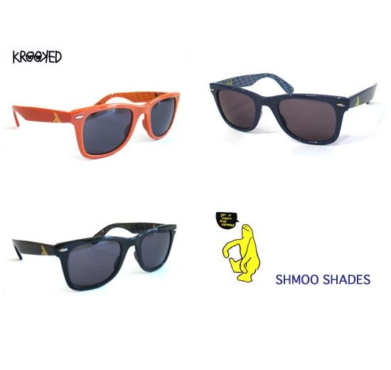 画像1: KROOKED(クルキッド)サングラス/ SHMOO SHADES  (1)