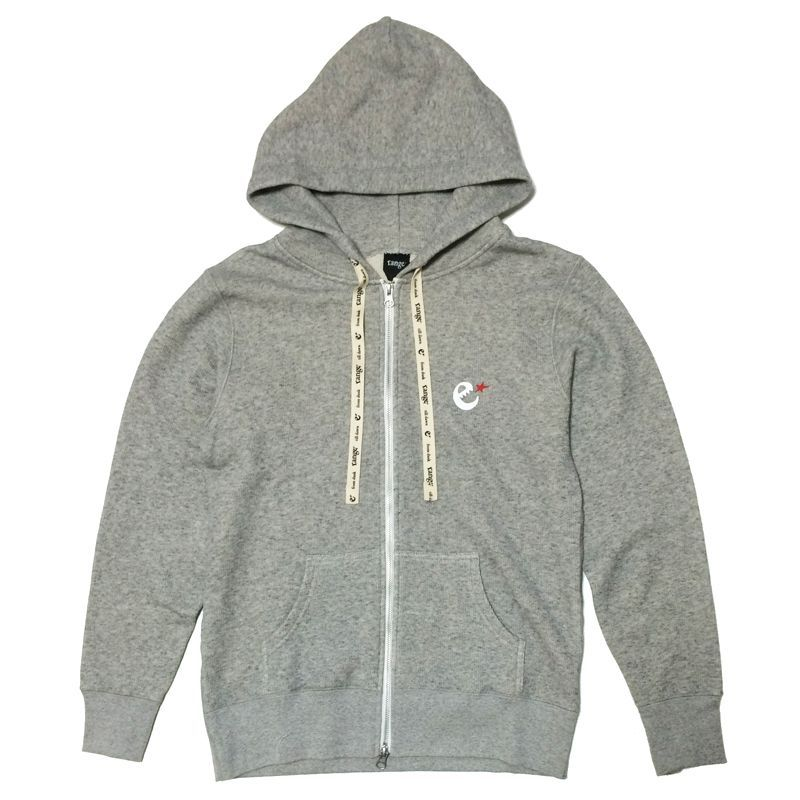 画像1: range(レンジ)BACK LOGO ZIP UP HOODY (1)