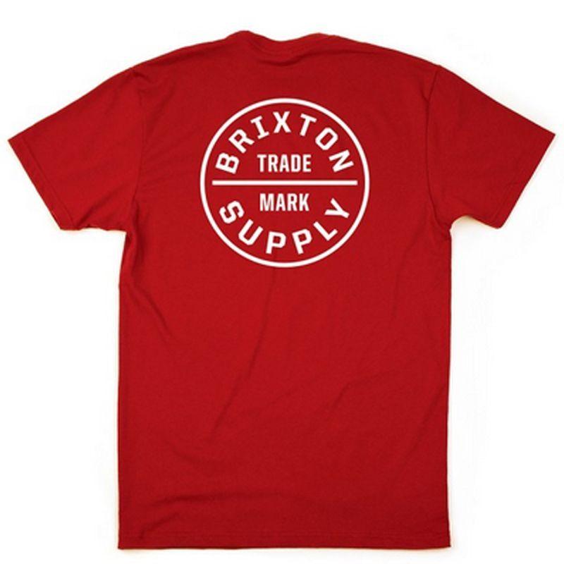 画像1: Brixton(ブリクストン)OATH -STANDARD FIT-RED- (1)