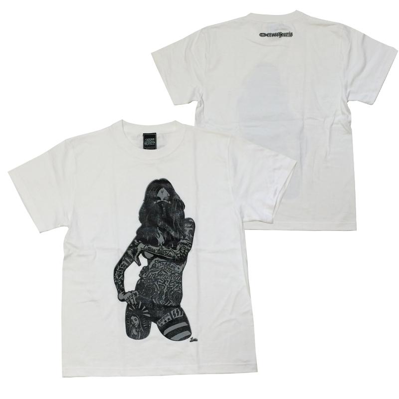 画像1: CROSSHEARTS(クロスハーツ)Tシャツ/DO OR DIE TEE (1)