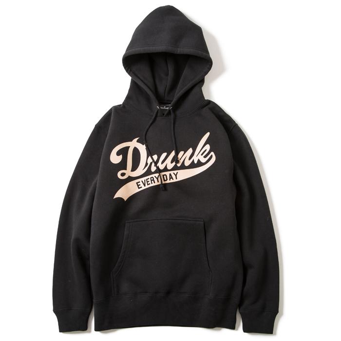 画像1: Deviluse (デビルユース)プルオーバー/Drunk Pullover Hooded (Black) (1)