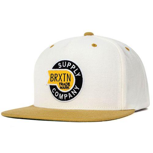 画像1: Brixton(ブリクストン) SLEDD -WHITE/GOLD- (1)