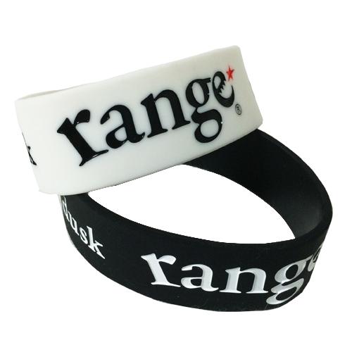 画像1: 【再入荷!】range(レンジ) RANGE RUBBER BRACELET (1)