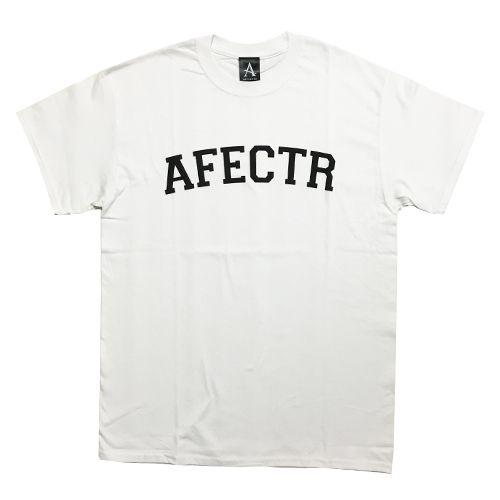 画像1: 【再入荷】AFFECTER(アフェクター) ARCH LOGO TEE WHT (1)