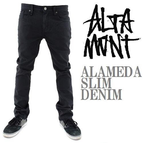 画像1: ALTAMONT(オルタモント)/ALAMEDA SLIM DENIM-OD BLK- (1)