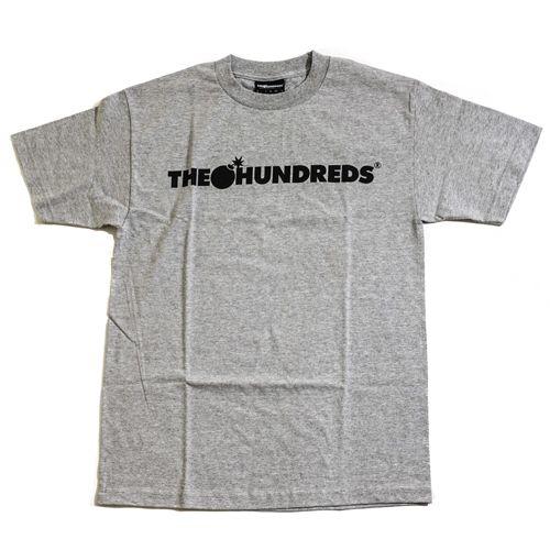 画像1:  THE HUNDREDS (ザハンドレッズ)FOREVER BAR T-SHIRTS -GRY- (1)