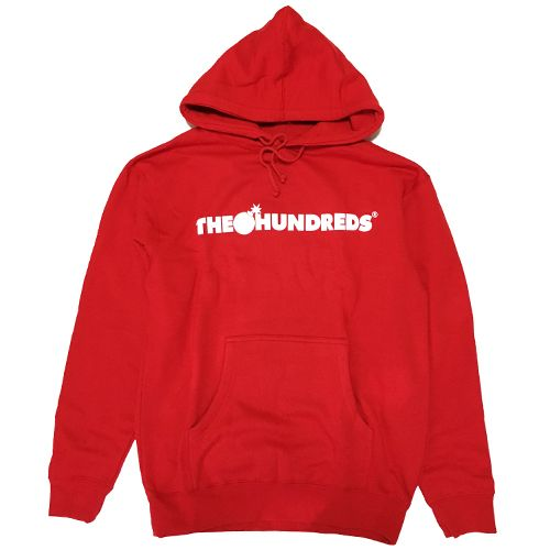 画像1:  THE HUNDREDS (ザハンドレッズ)FOREVER BAR PULLOVER -RED- (1)