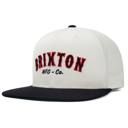 画像1: Brixton(ブリクストン) HAROLD CAP -WHT/BLK- (1)