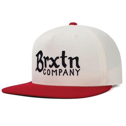 画像1: Brixton(ブリクストン)BARLEY -O.WHT/RED- (1)