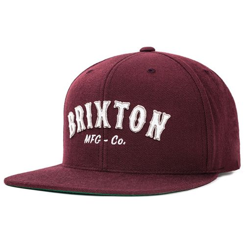 画像1: Brixton(ブリクストン) HAROLD CAP -MAROON- (1)