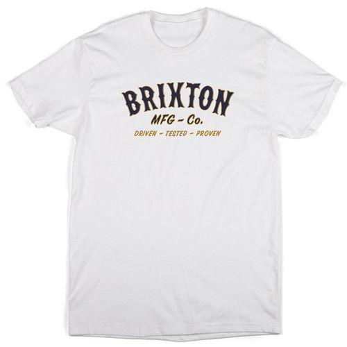 画像1: Brixton(ブリクストン)HAROLD STANDARD FIT-WHT- (1)