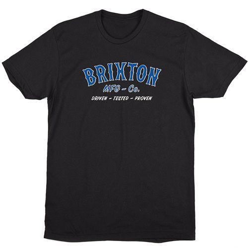 画像1: Brixton(ブリクストン)HAROLD STANDARD FIT-BLK- (1)