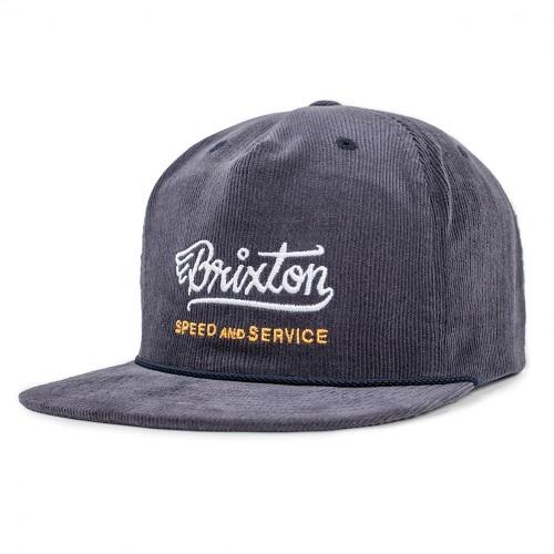 画像1: Brixton(ブリクストン) MACH SNAPBACK CAP-NAVY- (1)