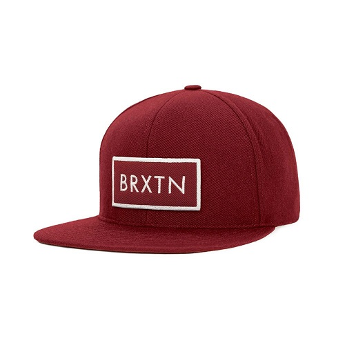 画像1: Brixton(ブリクストン) RIFT SNAPBACK -BUR/WHT- (1)