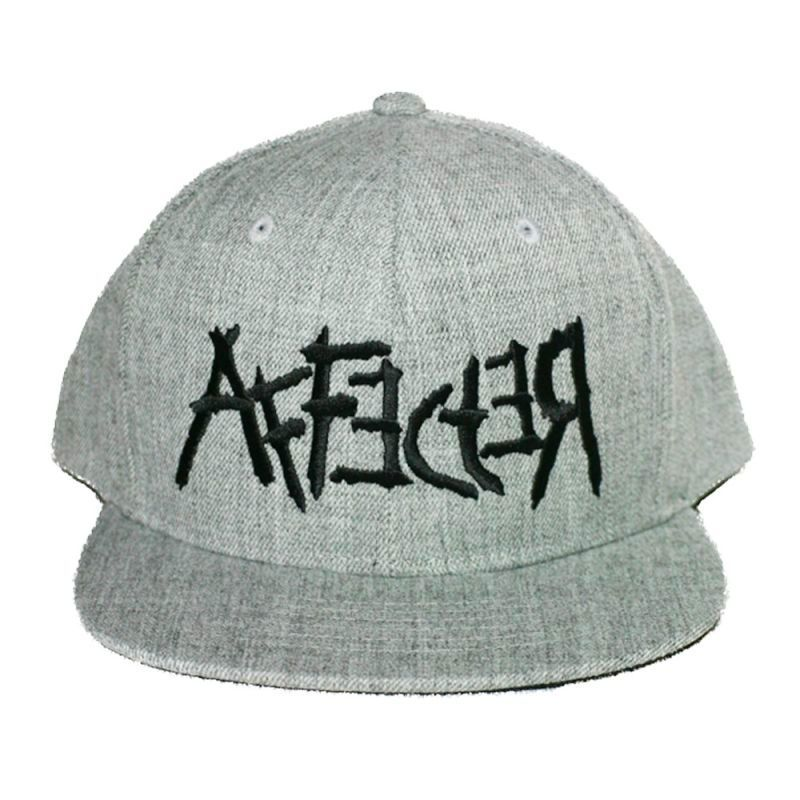 画像1: AFFECTER(アフェクター) キャップ SNAPBACK CAP  CROSS HEATHER GREY (1)