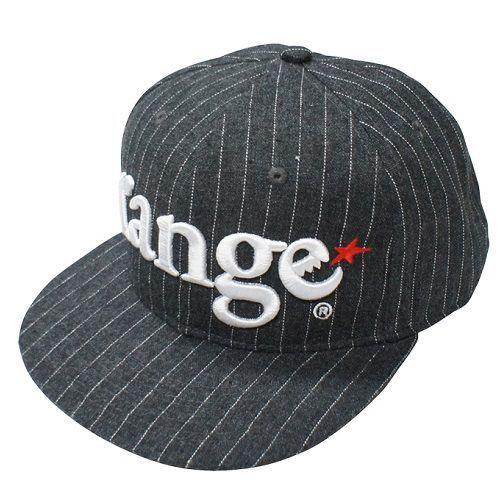 画像1: range(レンジ)ORIGINAL LOGO SNAPBACK CAP3 /-GRY/STRP- (1)