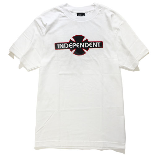 画像1: INDEPENDENT(インディペンデント)OGBC S/S TEE /-WHT- (1)