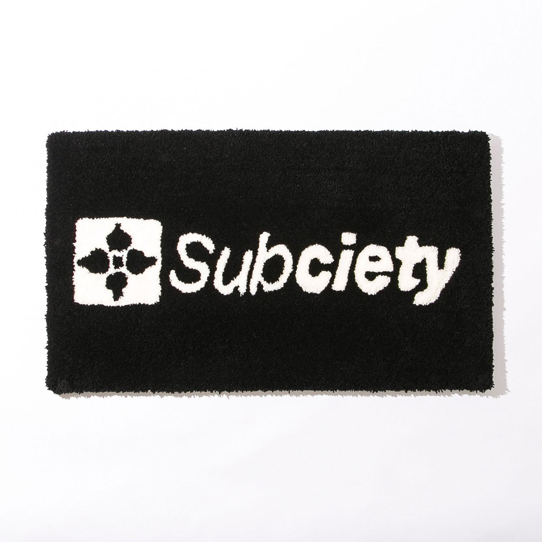 画像1: Subciety(サブサエティ)FLOOR MAT (1)