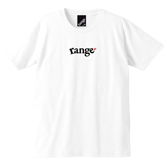 画像1: 【再入荷!】range(レンジ)rg EMB S/S tee -WHT- (1)