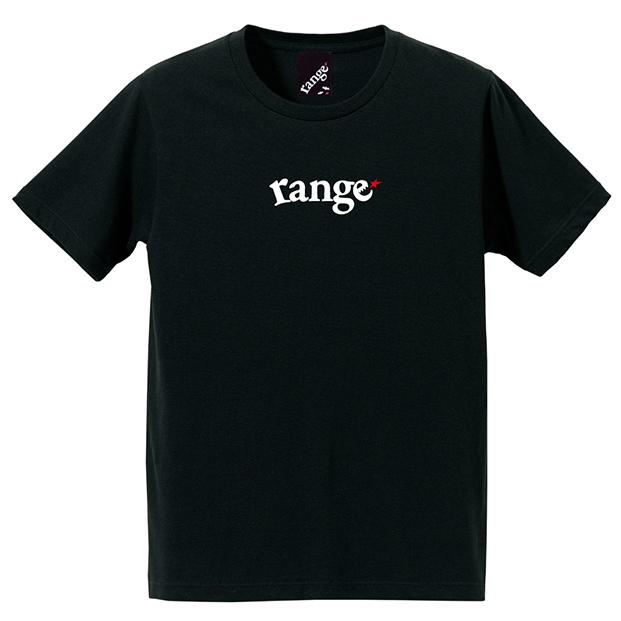 画像1: 【再入荷!】range(レンジ)rg EMB S/S tee -BLK- (1)