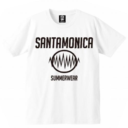 画像1: 【再入荷!】SANTAMONICA(サンタモニカ)SMSW logo tee -WHT- (1)