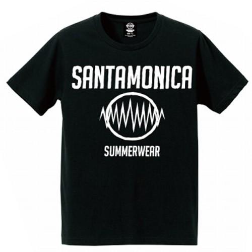 画像1: 【再入荷!】SANTAMONICA(サンタモニカ)SMSW logo tee -BLK- (1)