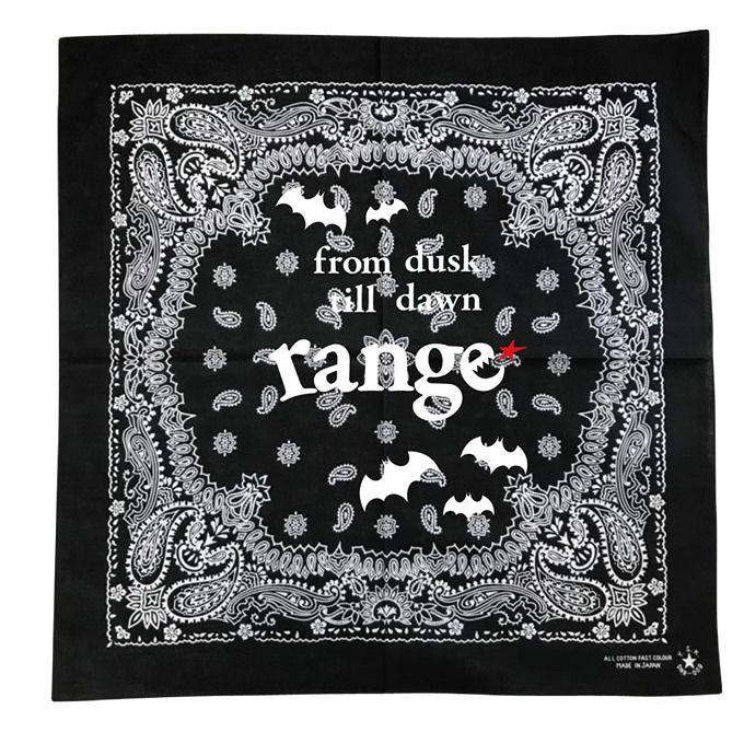画像1: range(レンジ)バンダナ/BANDANA WITH BAT/カラー3色 (1)