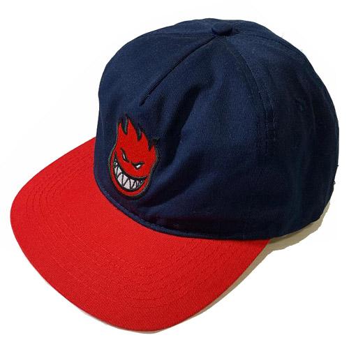 画像1: SPITFIRE (スピットファイアー)BIGHEAD 5P SNAP BACK -NVY/RED- (1)