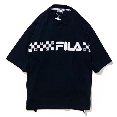 画像1: FILA(フィラ) GRAPHIC T-SHIRTS / -BLK- (1)
