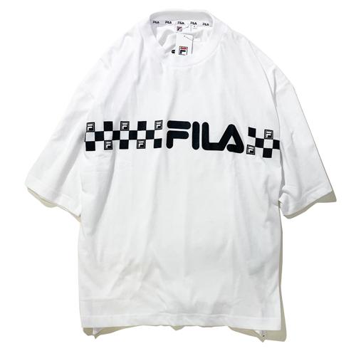 画像1: FILA(フィラ) GRAPHIC T-SHIRTS / -WHT- (1)