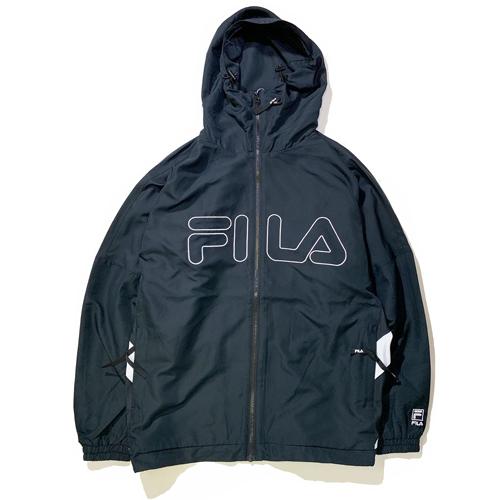 画像1: FILA(フィラ) TRACK HOODIE JKT /BLACK (1)