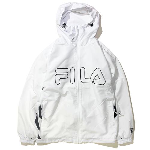 画像1: FILA(フィラ) TRACK HOODIE JKT /WHITE (1)
