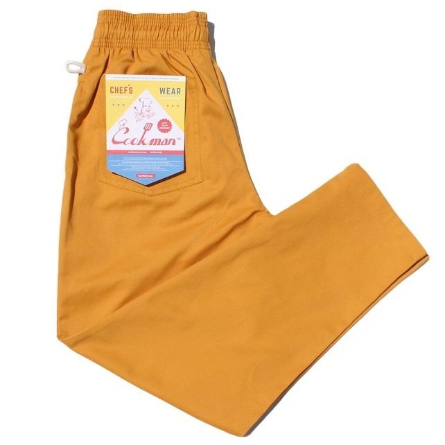 画像1: COOKMAN(クックマン)Chef Pants 「Mustard」 (1)