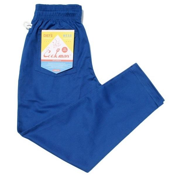 画像1: COOKMAN(クックマン)Chef Pants 「Deep Blue」 (1)