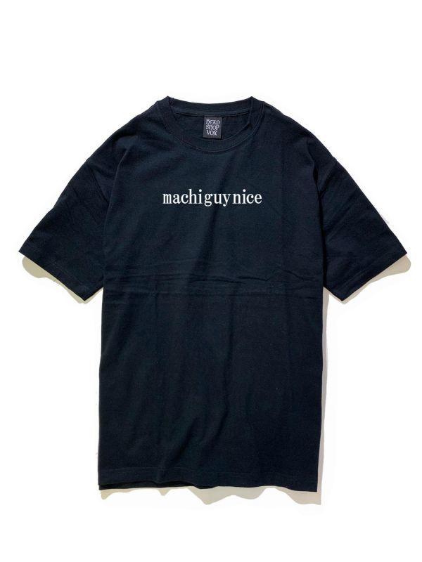 画像1: machiguynice(マチガイない)S/S TEE / -BLK- (1)