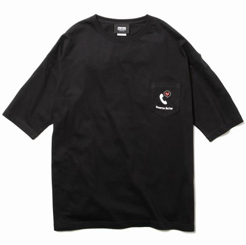 画像1: Deviluse (デビルユース) Better Big Pocket T-shirts / -BLK- (1)