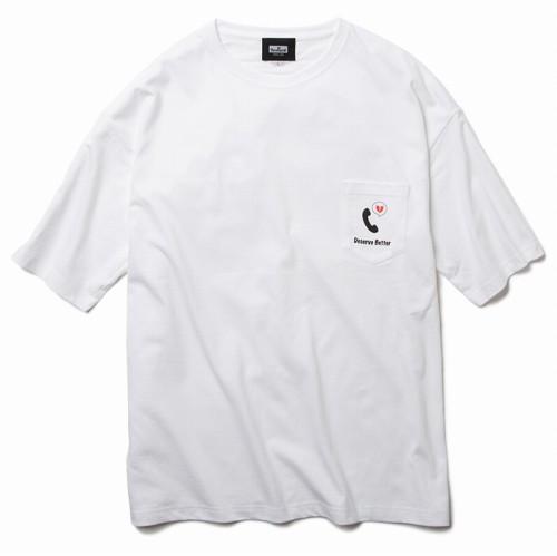 画像1: Deviluse (デビルユース) Better Big Pocket T-shirts / -WHT- (1)