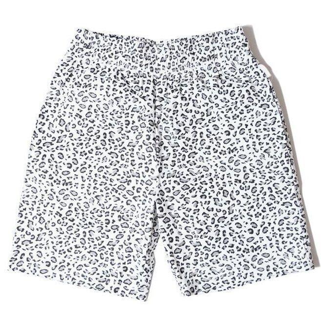 画像1: COOKMAN(クックマン) Chef Pants Short Snow Leopard -WHT- (1)